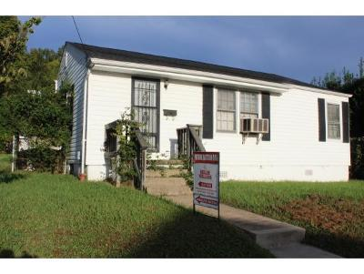 Kingsport TN Single Family Home For Sale: $40,700