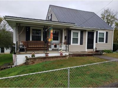 Kingsport TN Single Family Home For Sale: $127,000