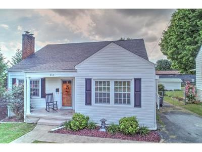 Kingsport TN Single Family Home For Sale: $119,900