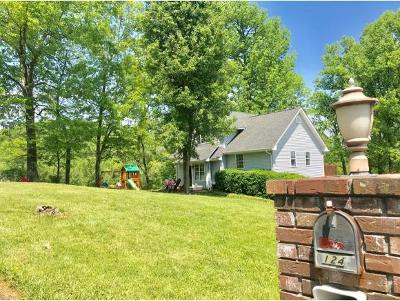 Gray Single Family Home For Sale: 124 Ridge Heights