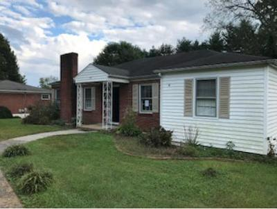Damascus, Bristol, Bristol Va City Single Family Home For Sale: 1729 Overhill Drive