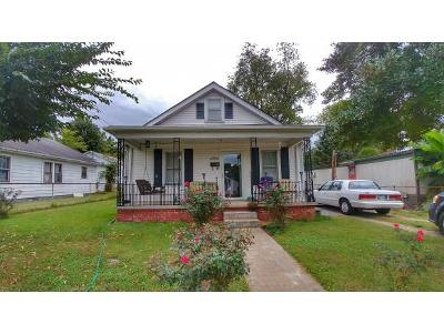 Kingsport Single Family Home For Sale: 1622 Spring Street