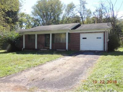 Greeneville Single Family Home For Sale: 1606 Kennedy Circle