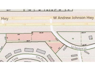 Greene County Residential Lots & Land For Sale: W. Andrew Johnson Hwy.