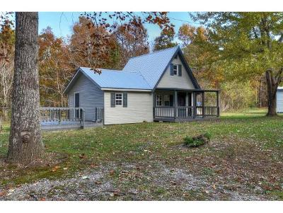 Single Family Home For Sale: 2155 Old Mountain Rd.