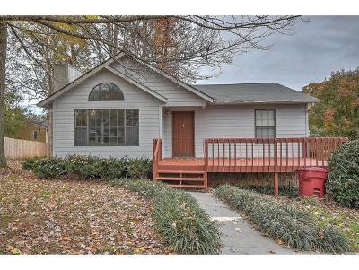 Johnson City TN Single Family Home For Sale: $154,900