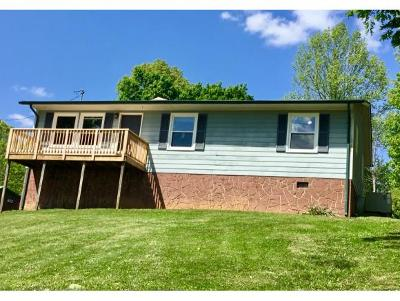 Kingsport TN Single Family Home For Sale: $132,500