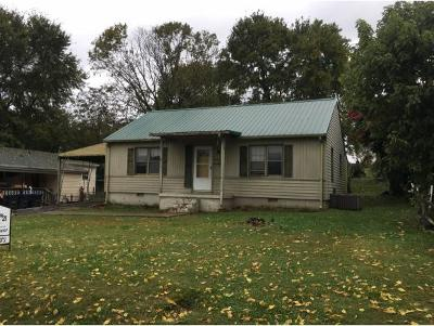 Kingsport TN Single Family Home For Sale: $59,900