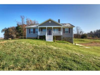 Jonesborough Single Family Home For Sale: 488 Bacon Branch Road