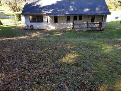 Greeneville TN Single Family Home For Sale: $90,000