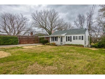 Bristol Single Family Home For Sale: 407 Bluff City Highway