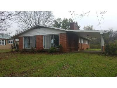 Greeneville TN Single Family Home For Sale: $73,300