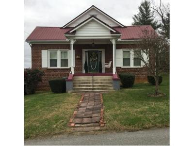 Greeneville TN Single Family Home For Sale: $124,900