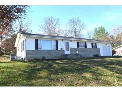 Greeneville TN Single Family Home For Sale: $109,900