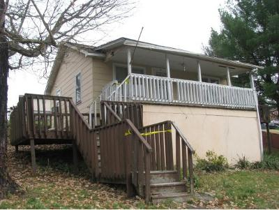 Kingsport TN Single Family Home For Sale: $27,500