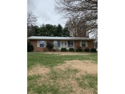 Greeneville TN Single Family Home For Sale: $145,000