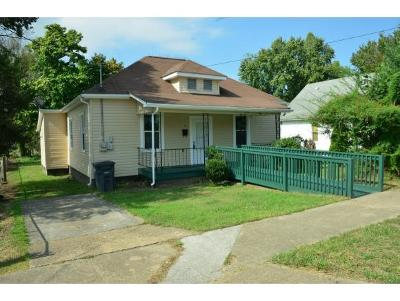 Kingsport TN Single Family Home For Sale: $88,900