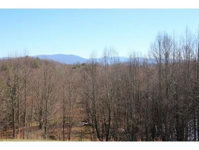 Butler Residential Lots & Land For Sale: Walnut Mountain Road