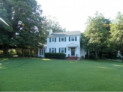 Damascus, Bristol, Bristol Va City Single Family Home For Sale: 1801 Lee Highway