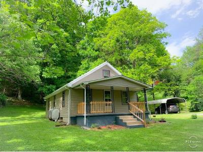 Damascus, Bristol, Bristol Va City Single Family Home For Sale: 22022 Sharrett Rd.