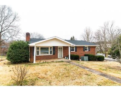 Bristol VA Single Family Home For Sale: $179,999
