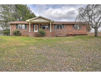 Single Family Home For Sale: 957 Petersburg Rd