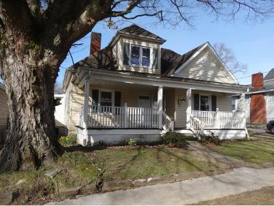 Bristol Single Family Home For Sale: 1132 Kentucky Avenue