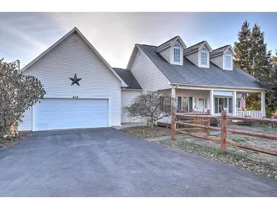 Jonesborough Single Family Home For Sale: 406 Mount Zion Church Rd