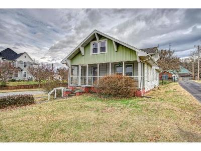Johnson City TN Single Family Home For Sale: $145,000