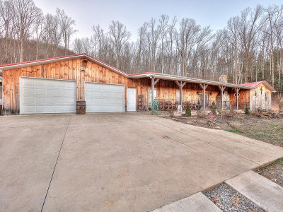 Single Family Home For Sale: 424 Roaring Creek Rd