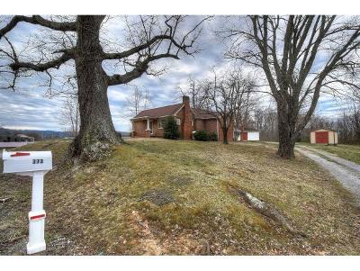 Jonesborough Single Family Home For Sale: 373 Old Embreeville Road