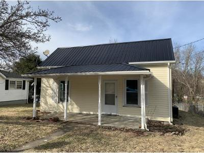 Bristol VA Single Family Home For Sale: $59,900