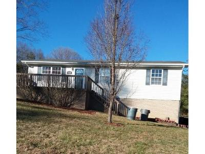 Elizabethton Single Family Home For Sale: 1423 Charity Hill Road