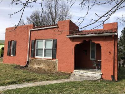 Single Family Home For Sale: 1601 Burgie Street