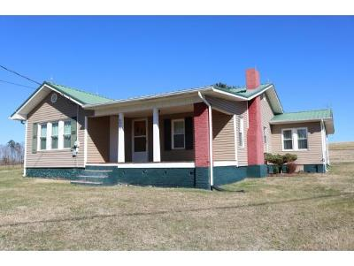 Greeneville TN Single Family Home For Sale: $114,900