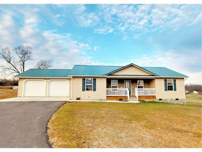 Greeneville TN Single Family Home For Sale: $197,000