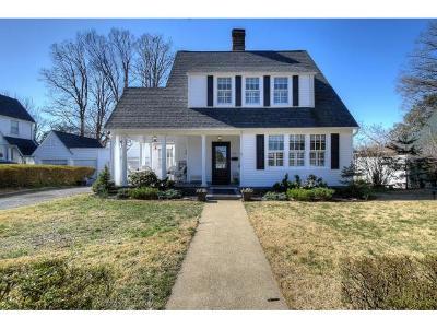Kingsport Single Family Home For Sale: 705 Yadkin St