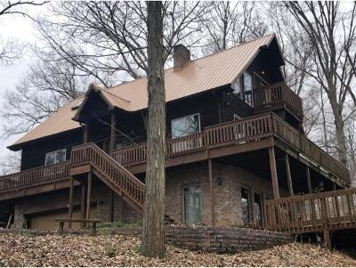 Single Family Home For Sale: 504 Hilltop View Ln