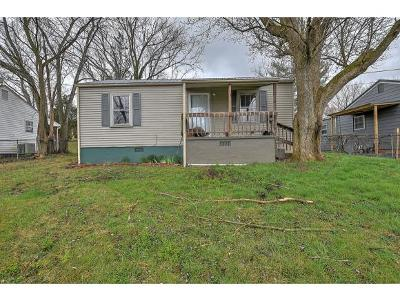 Johnson City TN Single Family Home For Sale: $89,900