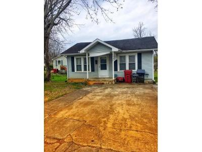 Johnson City TN Single Family Home For Sale: $65,000