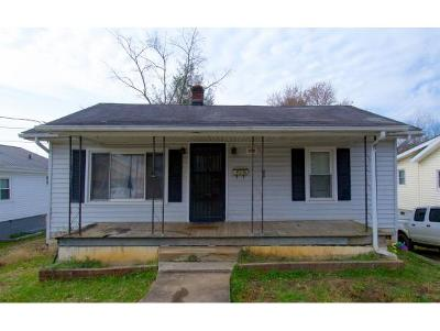 Johnson City TN Single Family Home For Sale: $60,000