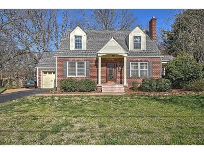 Kingsport Single Family Home For Sale: 1633 Woodside Drive