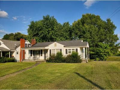 Bristol VA Single Family Home For Sale: $79,900