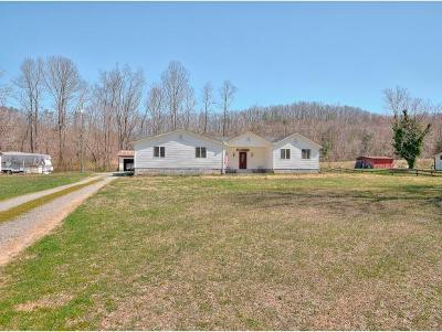 Bluff City Single Family Home For Sale: 445 Ryder Church Rd