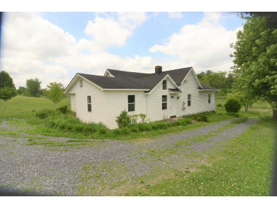 Bristol Single Family Home For Sale: 5354 Dishner Valley Road