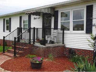 Bristol Single Family Home For Sale: 627 Old Stage Trail