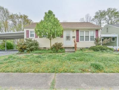 Kingsport Single Family Home For Sale: 1412 Belmont Drive