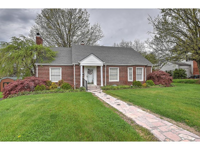 Greeneville Single Family Home For Sale: 1030 Forest St