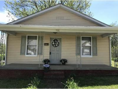 Johnson City TN Single Family Home For Sale: $99,900