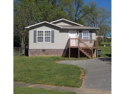 Elizabethton Single Family Home For Sale: 1111 Arney St